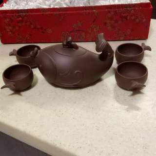 Zisha teapot set ( 1980s) collection