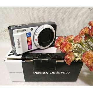 Pentax VS20 超強望遠近拍隨身機 雙快門+數位濾鏡 數位相機 相機