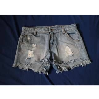 Ripped Hot Pants