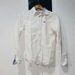 H&M white long sleeve