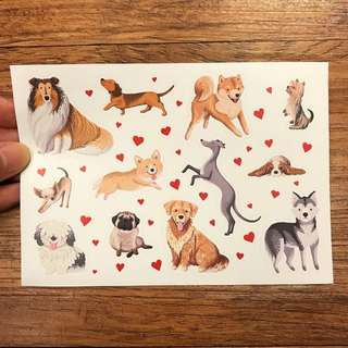 Dog stickers. Specially designed.
