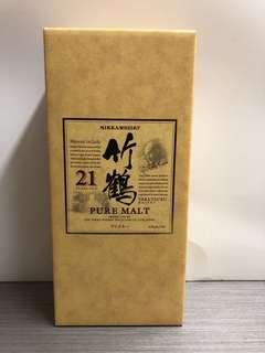 竹鶴21 包裝盒
