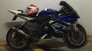 Yamaha R6 2010 April