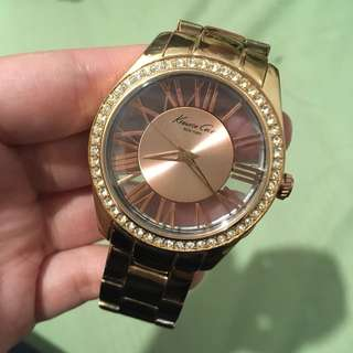 KENNETH COLE - ROSE GOLD WRIST WATCH