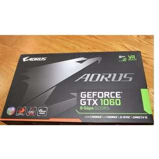 全網最低價 AORUS GTX1060 6G 鷹神版 三風扇