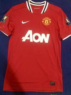Authentic Man Utd jersey
