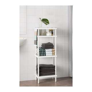 DYNAN Shelf unit with towel rail