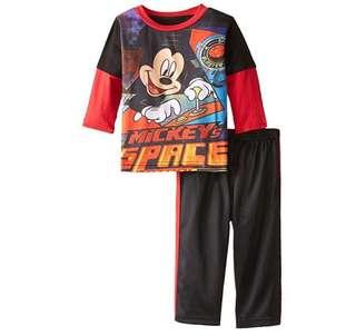 SALE 50% Off - 12 Mths BNWT Disney baby boys Mickey Mouse 2pc set