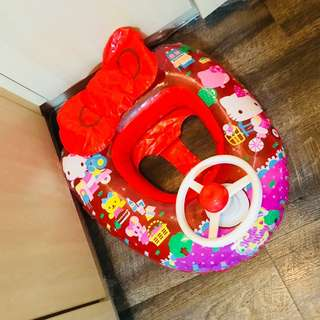 kids hello kitty swimming float original by Sanrio 0-2 years old