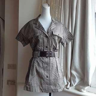 設計師*MARTIN&RED 絲棉混紡都會時尚上衣