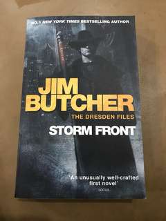 The Dresden Files Book One Storm Front Jim Butcher