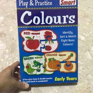 Sort & match colours puzzle