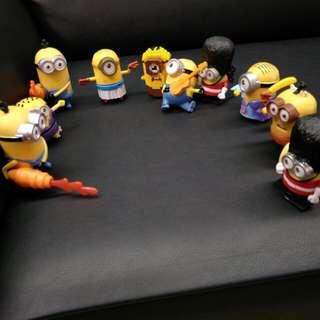 小小兵團隊玩具10隻
