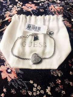 (BNWT)Guess Heart Swarovski Bracelet