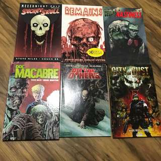 Graphic novels by Steve Niles