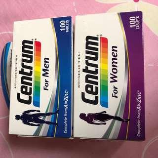Centrum Men and Women Multivitamin 100Tabs (special offer)