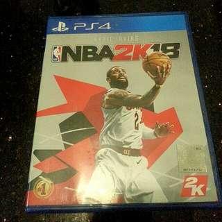 NBA 2K18 R3 (Asia) PS4