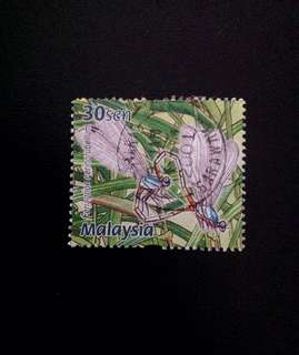 Malaysia 2000 Dragonflies and Damselflies 1V Used (0350)