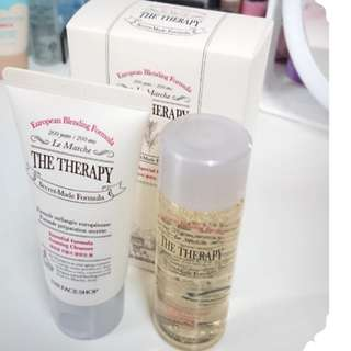 🍦HAPPY $7.95 SALE!! 🍦😄HIGH END ANTI AGING😄The Faceshop The Therapy Special Kit