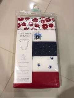 [Brand New] (1M-3M) Mothercare Bodysuit
