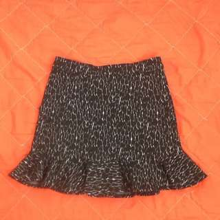 Bayo ruffle mermaid mini skirt free shipping
