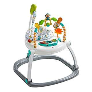 Fisher Price Colorful Carnival Spacesaver Jumperoo