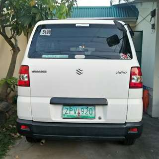 Pre loved family car is looking for a new home.Suzuki APV 2008,88k mileage 280k neg after viewd