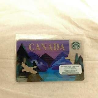 Starbucks 星巴克 加拿大 儲值卡 (包平郵)