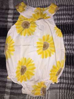 Carter's Sunflower Romper