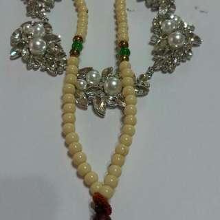 珍珠項鍊自己DIY