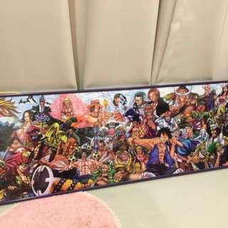正版日本帶回 海賊王 航海王 ONE PIECE 新世界 拼圖 950片 附框 34x102cm