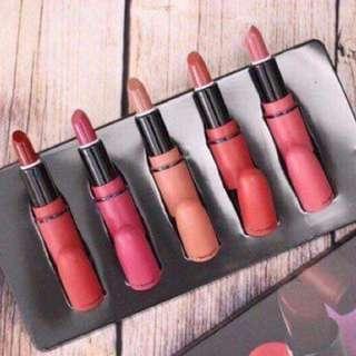Mac Matte Lipstick Set