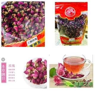 玫瑰花茶,自己泡更健康!