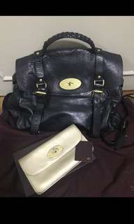 Mulberry Alexa (oversized) bag and wallet