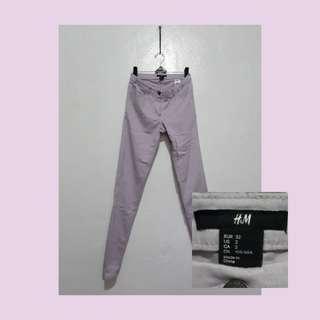 H&M pastle lilac pants