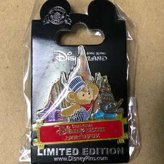 香港 迪士尼 徽章 Disney Pin PIN TRADING Day 2017 Duffy Passport Pin 上海