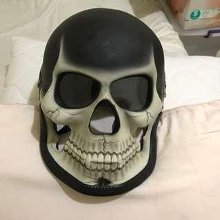 哭乳頭個性造型安全帽