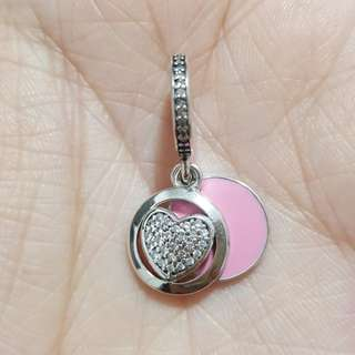 Code SS748 - Love You Make My Heart Smile 100% 925 Sterling Silver Charm, Chain Is Not Included, Compatible With Pandora