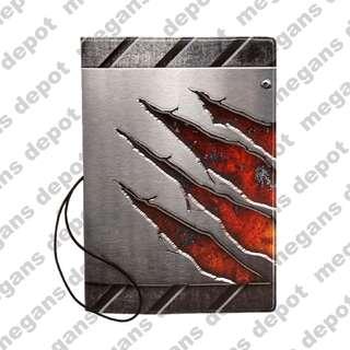 Metal Design 3D Passport Holder