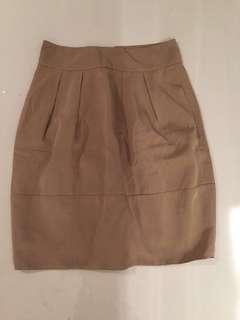 Banana Republic Silk Skirt