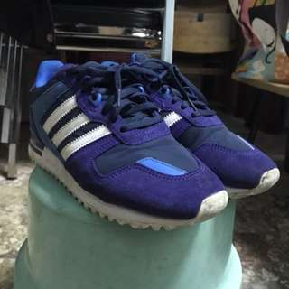 🚚 Adidas zxflux紫色us7