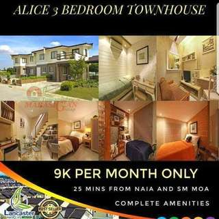Affordable house and lot alice model