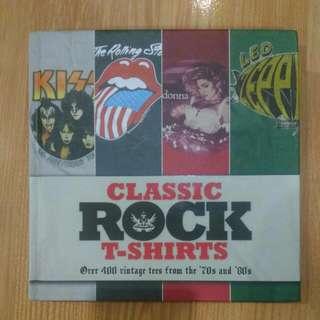 Vintage! Classic Rock T Shirt Book