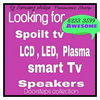 Buying spoilt tv speaker subwoofer soundbar amplifier