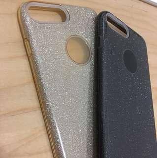 iPhone 8 Plus / 7 Plus 手機殼 (閃金/閃黑)