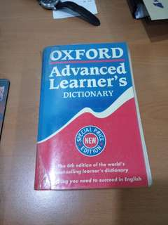 Oxford Advanced Learner English Dictionary