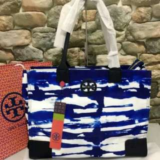 FREE SHIP Tory Burch packable tote -print3