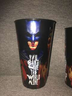 Justic League Plastic drinking cup