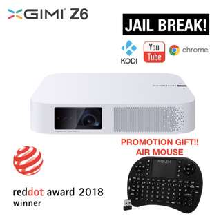 *free shipping*XGIMI Z6 Led Projector 700 Ansi 300 Inch ULTRA HD 1080P 3D Android Smart Home Theatre WIFI