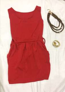 Red dress/ top